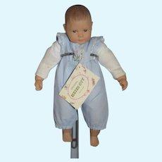 Vintage Doll Heidi Ott Swiss Baby Doll W/ Tag adorable