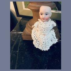 Antique Doll Miniature Kestner 103 Yellow Boots Dollhouse