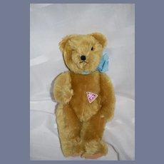 Vintage Clemens Teddy Bear German Mohair Spieltiere W/ Growler Joint Original Tag