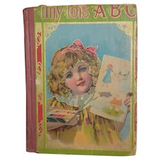 Tiny Tot's ABC Book Homewood Publishing Co. 1900 Perfect Doll Display