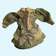 Sweet Vintage Doll Dress Petite Doll French Market Drop Waist