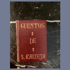 Wonderful Doll Book Miniature Cuentos DE Calleja Tales Children's Book