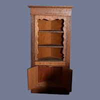 Doll Miniature Dollhouse Cabinet Wood