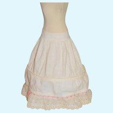 Wonderful Hoop Slip Skirt Threaded Ribbon Fashion Doll Undergarment