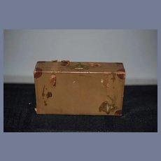 Sweet Old Doll Litho Suitcase Fashion Doll Size Miniature