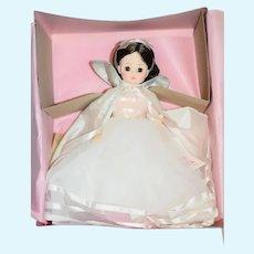 Vintage Doll Madame Alexander In Original Box Snow White W/ Wrist Tag