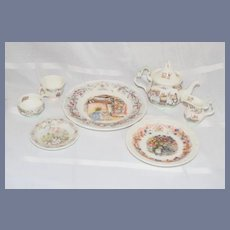 Vintage Royal Doulton Brambly Hedge Tea Service Winter Autumn Wedding
