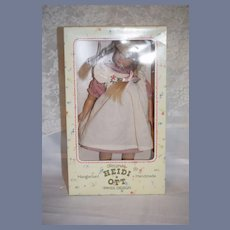 Sweet Vintage Heidi Ott Doll Swiss Design In Original Box