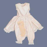 Sweet Vintage Doll Undergarments W/ Fancy Socks Stockings