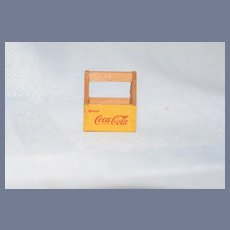 Vintage Doll Tony Botelho Artist Miniature Wood Signed Coca Cola Case