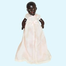 Vintage Black Doll Celluloid Baby Charming