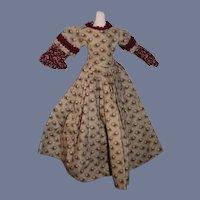 Sweet Petite Doll Dress and Bonnet Vintage