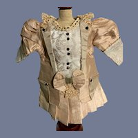 Wonderful French Market Doll Dress Drop Waist