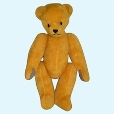Sweet Artist Teddy Bear Jointed W/ Original Tag Cheryl Ingersoll