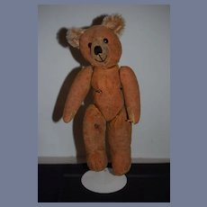 Old Teddy Bear Jointed Wonderful Face Sweet Size Needs TLC