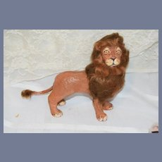 Wonderful Papier Mache Lion Artist FAB