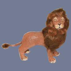 Wonderful Papier Mache Lion Artist FAB