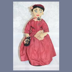 Sweet Old Cloth Doll Crochet? Detailed Unusual
