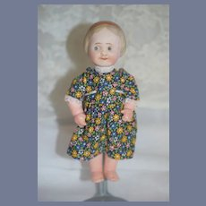 Antique  Bisque Side Glancing Character Doll Nippon Jointed