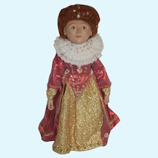 Queen Elizabeth Artist Doll Wonderful Character Doll