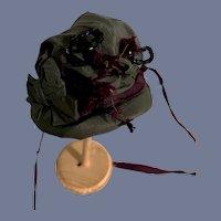 Fancy Doll Bonnet Hat W/ Tie Sash's
