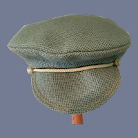 Specially Hand Made By Laura Light Blue Cap Bonnet