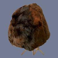 Sweet Faux Fur Doll Bonnet Hat
