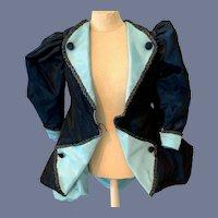 Wonderful Doll Coat Jacket Taffeta Fancy French Market