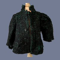 Sweet Vintage Doll Coat Jacket Lined Boucle Charming