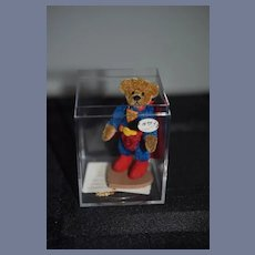 Vintage Artist Teddy Bear Miniature Super Teddy Bear Jointed