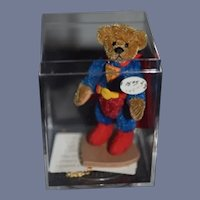 Vintage Artist Teddy Bear Miniature Super Teddy Bear Jointed