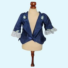 Fancy Doll Jacket W/ Tails Lace Silk Fashion Doll