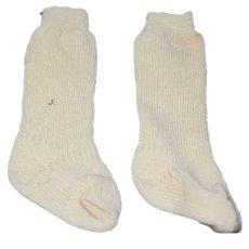Vintage Doll Socks Stockings
