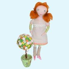 Artist Doll Yuliacrafts Whimsical Cloth Doll