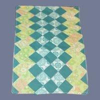 Wonderful Doll Patchwork Quilt Bedding Size