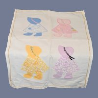Sweet Old Bonnet Head Quilt or Wall Hanging