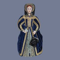 Wonderful Queen Catherine Fifth Wife of Henry VIII By Brenda Price W/ Tag Signed and Numbered