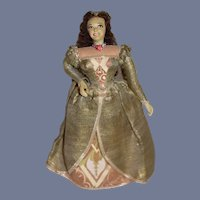 Wonderful Anne Boleyn Queen of England Second Wife of Henry VIII Doll Historical Figure Ottenberg England