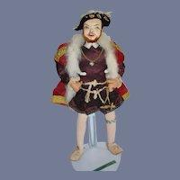 Wonderful Henry the VIII Doll Historical Figure English Ottenberg