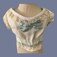 Sweet Vintage Fancy Undergarment Doll Top
