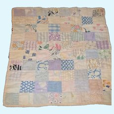 Old Doll Quilt Patchwork