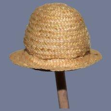 Little Straw Woven Sun Hat Doll