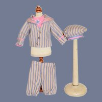 Wonderful Doll Sailor Outfit Top Bottoms Hat