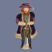 Vintage Doll Artist  King Henry VIII Wonderful