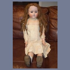 Antique Bisque Doll Large Huge Gorgeous Dolly Face