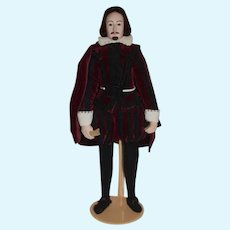 Wonderful Shakespeare Doll Portrait Historical Figure Artist Doll