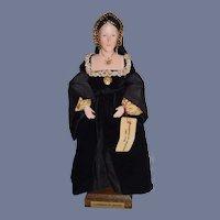 WONDERFUL Vintage Artist Doll  Catherine of Aragon Ann Parker English Costume Dolls