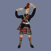 Wonderful Ottenberg English Doll In Original Period Costume
