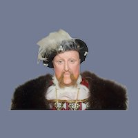 Wonderful Doll King Henry VIII Ann Parker W/ Tag English