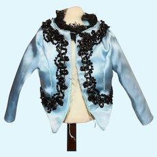 Sweet Petite Beaded Doll Jacket W/ Lace Trim Fashion Doll